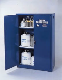 Eagle Manufacturing Steel Acid/Corrosive Storage Cabinets - Cabinets with Two Doors, Model CRA-47