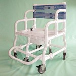 Extra Wide Adult Shower/Commode Chair - Model 554909