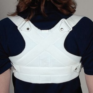 "Front Closure Clavicle Support Size: XLarge, Chest Circ: 42"" - 48"" - Model 56475605"