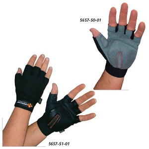 "IMPACTO Carpal Tunnel Gloves - Synthetic, L, MCP Circum: 9""- 10"" - Model 56575003"