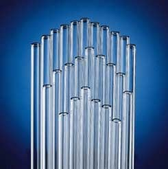 kimble chase kimax glass tubing standard wall cut ends model 80200 5 case of 25 - Glass Tubing