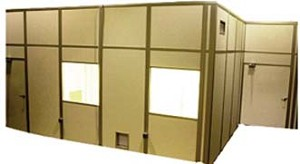 LM Air Technology Lo-Pro MDR Series Modular Downflow Cleanrooms, Model MDR-1620, Each