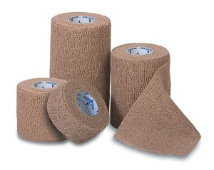 "Non-Sterile Latex Co-Flex Bandage - Coflex, Med, 1""X5Yd, Color Pk, Box of 30 - Model MDS086001CP"