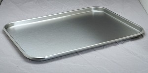 Medline Instrument Tray - w/ Rolled Bead, 21.25X16.25X.875, Each - Model DYND051520
