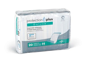 "Protection Plus Fluff-Filled Underpad - Dlux, Prot Plus, 23X36"", Box of 120 - Model MSC281248"