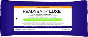 ReadyBath LUXE Total Body Cleansing Heavyweight Washcloth - Premium, Ab, Scented, Each