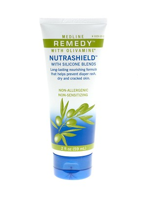 Medline Remedy Olivamine Nutrashield Skin Protectant - 2 Oz, Box of 24 - Model MSC094532