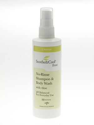 Soothe & Cool No Rinse Shampoo & Body Wash - No-Rinse, Spr, S&C, 8Oz, Each - Model MSC095440