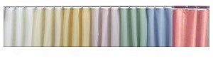 Medline Spray Shower Curtain Collection - 100% Nylon, 36X72, Pink, Each - Model SPQ36X72PIN