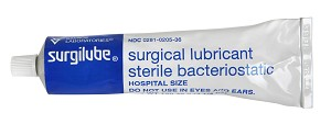 Sandoz Surgilube Surgical Lubricant - Jelly, Sterile, Tube, 4.25Oz, Each - Model 0205-36