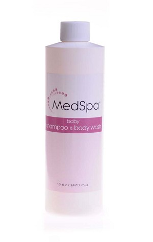 Medline MedSpa Shampoo - Baby/Adult, 4 0Z, 118 ml, Each - Model MSC095020