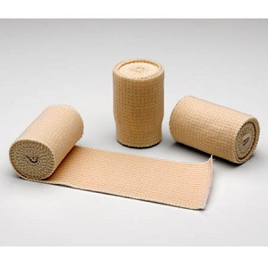 "MooreBrand Latex-Free Elastic Bandages - Double Hook and Loop Closure, 2"" x 4.5 yds, Box of 10"