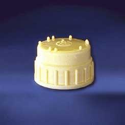Thermo Scientific Nalgene Polypropylene Screw Closures, Model 712160-0830,  Pack of 2