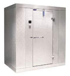 Nor-Lake Scientific Mini-Room Walk-In Cold Rooms and Freezers With Four-Tier Shelving