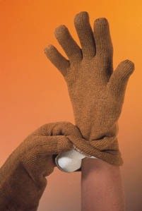 QRP High-Temperature Gloves, Large, Model 50G L, Pack of 2