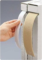 "R Securable II Strapping Material Strapping Material Color: Beige, Dimensions: 1"" x 25 yd. (2.5cm x"