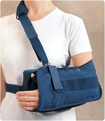 "Rolyan Abduction Sling, Size Small, Elbow to MCPs 11"" (28cm) - Model A54930"