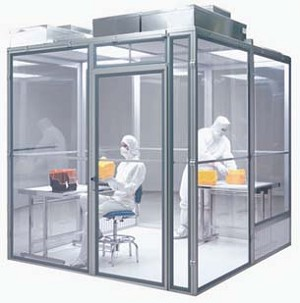 Simplex AirLock Modular Cleanroom Enclosures - Cleanrooms with LEXAN ...