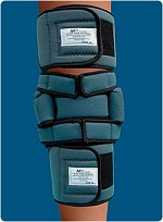 "Static Knee Orthosis Size: X-Small, Mid-Calf Circum.: 7""-9 1/2"", Mid-Thigh Circum.: 10 1/2""-12 1/2"""