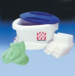 Waxwel Paraffin Accessory - Plastic Hand/Foot Liners For Paraffin Bath (100 Each)