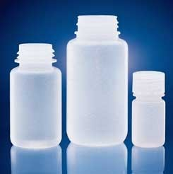 Wheaton Leak-Resistant Bottles, Low-Density Polyethylene, Wide Mouth, Model 209428, Case of 72