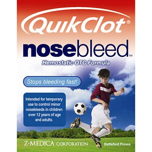 Z-Medica QuikClot NoseBleed Hemostatic Gauze - Model 158 - Box of 5