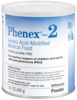 Abbott Phenex-2 Oral Supplement, Unflavored Powder 14.1 oz., Each - Model 51122