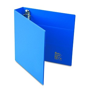 avery dennison heavy duty one touch binder rng 11x8 5 1 5in be