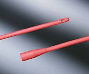Bard Intermittent Catheter Round Tip Red Rubber 14 Fr., Each - Model 94140