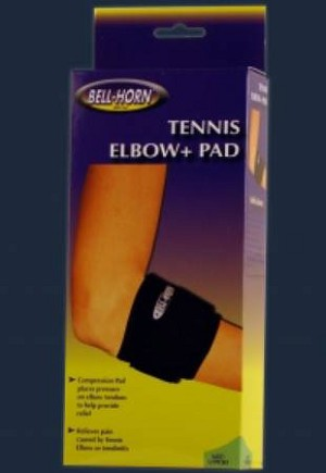 DJO Elbow Support Strap Large / X-Large, 11 - 14 Inch Forarm Tennis, Each - Model 308L-XL