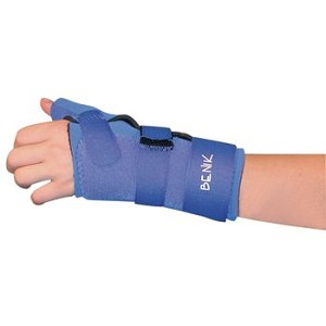 Benik W-313 Wrist/Thumb Splint - Pediatric LEFT MD - Item #081586379