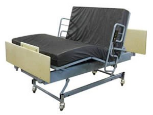 Big Boyz Queen's Pride 600LM Full Electric Bed, Bariatric Full 80 Inch Steel Deck, Each - Model QP5480