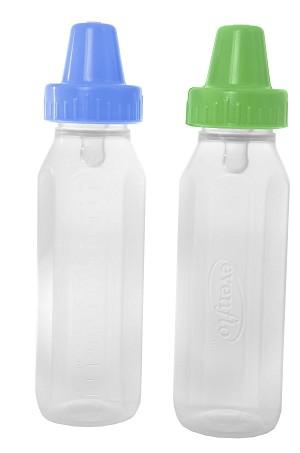 Classic Clear Plastic Baby Bottle Nurser 8oz Bpa Free