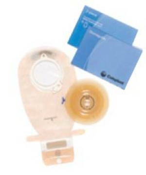 Coloplast Kit 2Pc Drn C/F Cn Blu, Box of 5 - Model 11001
