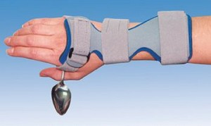 "Deluxe Wrist Drop Orthosis - Large, 3-1/2""-4"", Right - Item #565879"