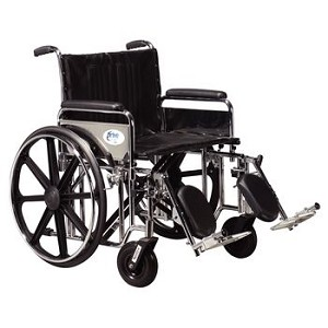 Drive Sentra Heavy Duty Wheelchair - 24