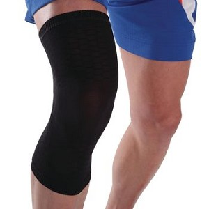 ESS Knee Compression Sleeve - L/XL Black - Item #081606516