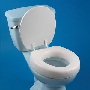 Soft Touch Toilet Seat.  High Rise Soft Touch Seat Item 567057