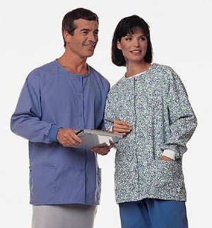 Hospitex A-1 Warm-Up Jacket, Teal Large Long Sleeve, Each - Model 46859-1L7