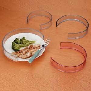 invisible food guard for 6 7 1 2 plates item 1114. Black Bedroom Furniture Sets. Home Design Ideas