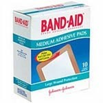 Band-Aid Comfort Flex Adhesive Pads, Large 2 7/8 in x 4 in (7.3 cm x 10.1 cm) - Model 119-2855