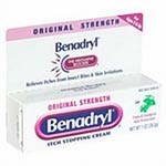 J&J Benadryl Cream 1%, 1oz - Model 179-6465, Each