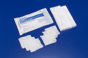 Kendall Curity Conforming Dressing, Gauze Assorted Assorted Shapes, White, Pkg of 48 - Model 3913