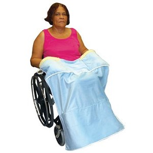 Lap Blanket w/Hand Warmer & Foot Pocket - Item #81566520