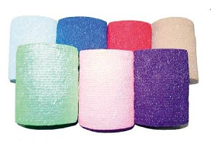 Medi-Pak Performance Self-Adhesive Bandage, Elastic with Cohesive 3 Inch X 5 Yard NonSterile