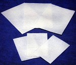 Medi-Pak Performance Non-Adherent Dressing, Nylon / Polyester Blend 2 X 3 Inch, White, Box of 100