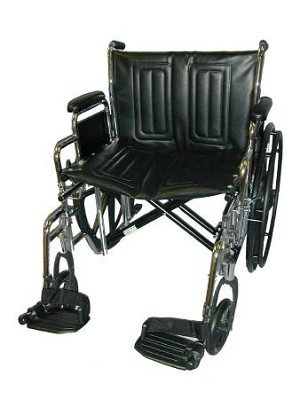 McKesson sunmark Wheelchair, Removable Desk Arm Mag Black, Each - Model 115-6801