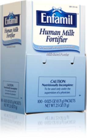 Mead Johnson Enfamil Human Milk Fortifier Infant Formula, 0 71 Gm, Each -  Model 201418