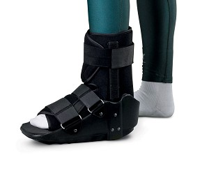 Medline Standard Ankle Walker - Nonskid, Md, Each - Model ORT28200M