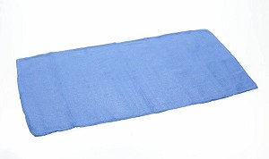 Medline Non-Sterile Disposable OR Towel - Dsp, Ns, Blue, Bulk, Box of 100 - Model MDT216801